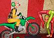 Circus Biker