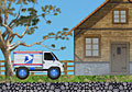 Mail Truck - Free Truck Games