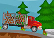 Lumber Truck - Free Truck Games