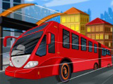 Speed Bus Frenzy - Free Driving Game