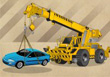 Crane Parking Mania - Free Parking Games