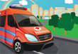 Emergency Van Parking - Free Parking Game