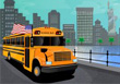 Field Trip Bus Ride - Free Driving Game