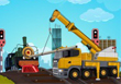 Railroad Crane Parking - Free Parking Game