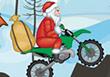 Santa On Motorbike - Free Motorbike Games
