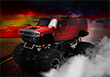 Red Hot Monster Truck - Free Monster Truck Games 2014